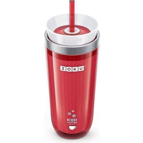 Kubek do mrożonej kawy lub herbaty Iced Coffee Maker czerwony, zk121-rd