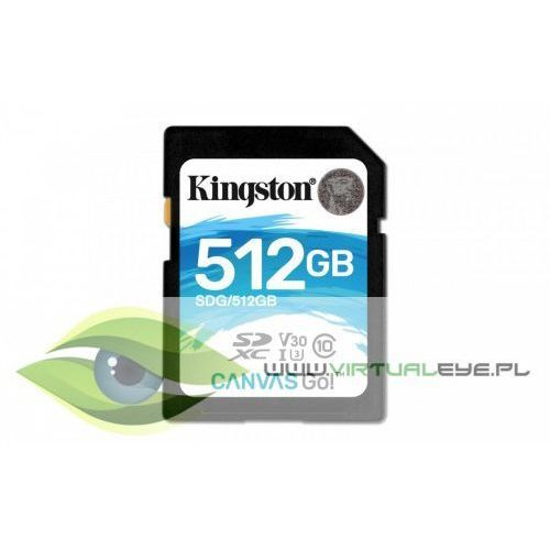 Kingston SD 512GB Canvas Go 90/45MB/s CL10 U3 V30 (0740617276053)