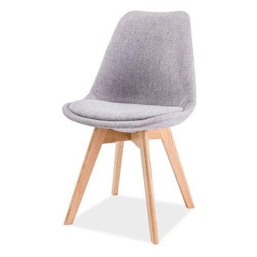 Tapicerowane krzesło z poduszką Dior