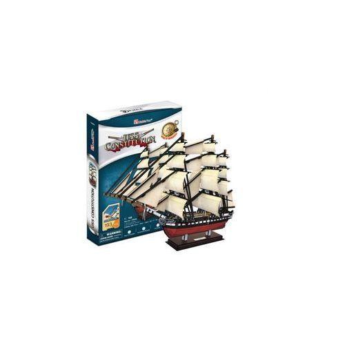 PUZZLE 3D Żaglowiec USS Constitution, 5_522180