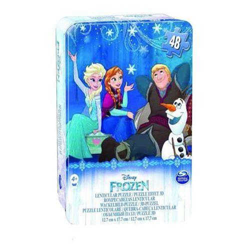 Puzzle mini frozen marki Spin master