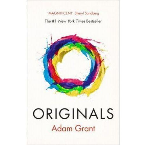 OKAZJA - Originals How Non-Conformists Change the World - Adam Grant, oprawa miękka