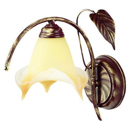 Kinkiet roślina 025/k b+z* - - sprawdź kupon rabatowy w koszyku marki Lampex