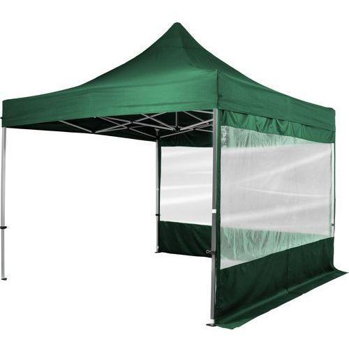 Instent ® Zielony pawilon ekspresowy namiot 3x3m + 2 ścianki