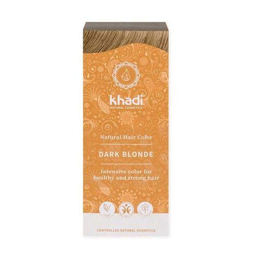 OKAZJA - Khadi ziołowa farba do włosów ciemny blond 100g - ciemny blond
