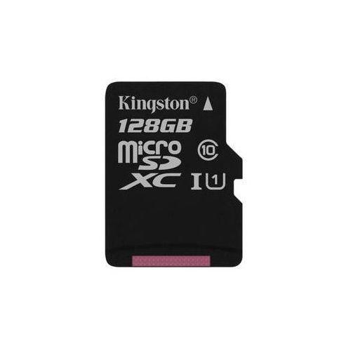 Karta pamięci Kingston Canvas Select MicroSDXC 128GB UHS-I U1 (80R/10W) (SDCS/128GBSP)