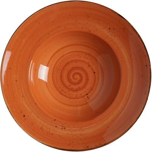 Talerz do pasty porcelanowy dahlia marki Fine dine