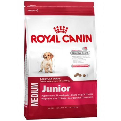 Royal canin Karma shn medium junior 4 kg