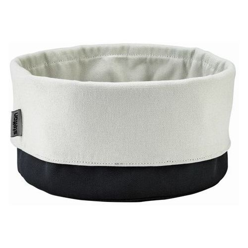 - koszyk na pieczywo - duży - czarno-piaskowy marki Stelton