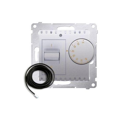 Kontakt-simon Regulator temperatury simon 54 drt10z.02/43 z czujnikiem zewnętrznym srebrny mat (5902787826727)