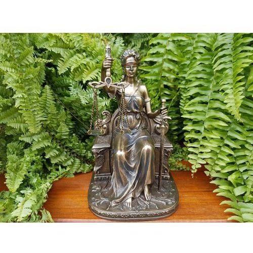 Rzeźba temida - symbol sprawiedliwości  (wu75268a4) marki Veronese