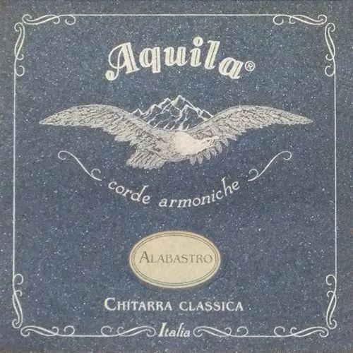 alabastro nylgut & silver plated copper struny do gitary klasycznej superior tension marki Aquila