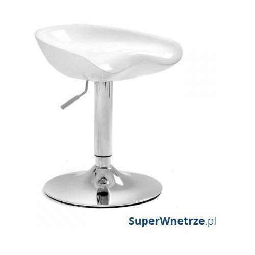 Krzesło obrotowe z regulacją wysokości UNIQUE Spoony White