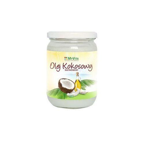 Olej kokosowy rafinoway Myvita 200ml