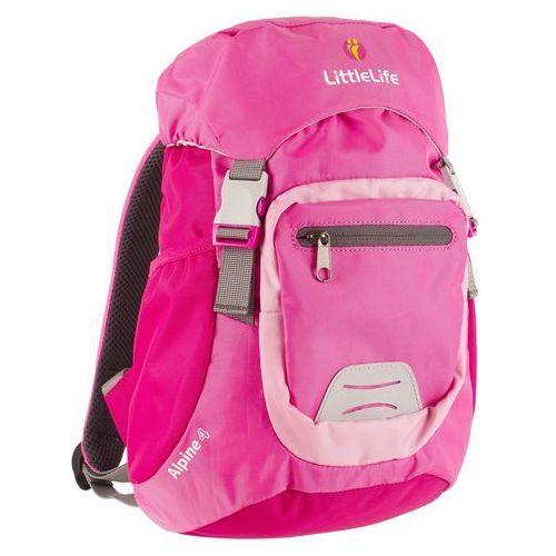 Plecak LittleLife Alpibe 4 Pink, kolor różowy