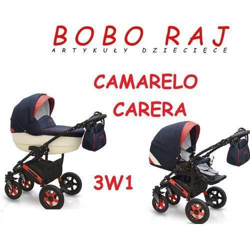 Wózek głęboko-spacerowy firmy model carera+ fotelik błyskawiczna wsyłka, zadzwoń i zamów 58 322 03 25 marki Camarelo