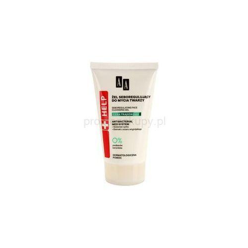 Aa cosmetics  help acne skin antybakteryjny żel oczyszczający redukujący sebum + do każdego zamówienia upominek.