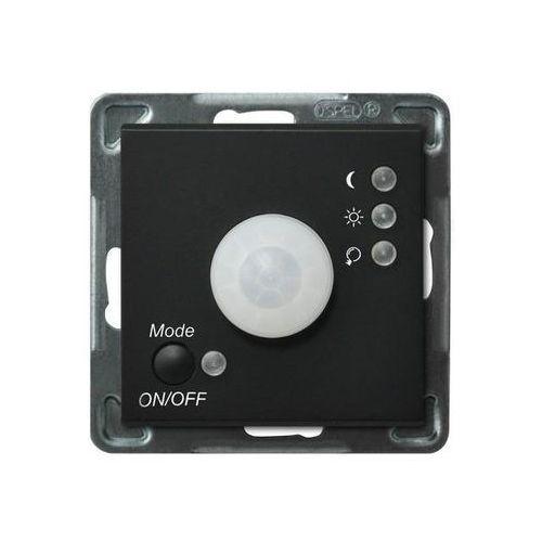 Ospel sonata łp-16r/m/33 elektroniczny czujnik ruchu czarny metalik (5907577446697)
