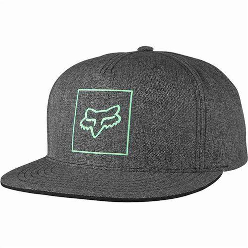 czapka z daszkiem FOX - Crass Snapback Heather Black (243) rozmiar: OS