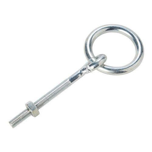 Śruba oczkowa Diall z pierścieniem 10 x 80 mm