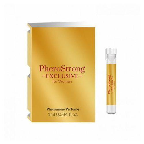 Feromony dla Kobiet PheroStrong Exclussive for Women 1ml | 100% DYSKRECJI | BEZPIECZNE ZAKUPY (5905669259446)