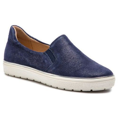 Tenisówki - 9-24662-22 blue jeans sue 802 marki Caprice
