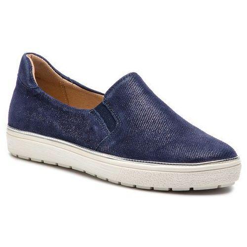 Tenisówki CAPRICE - 9-24662-22 Blue Jeans Sue 802, w 9 rozmiarach