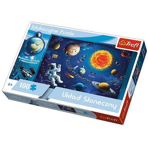 Trefl Puzzle 100 układ słoneczny edukacyjne 15507 (5900511155075)