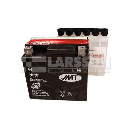 Akumulator bezobsługowy JMT YTX5L-BS (WPX5L-B) 1100219 KTM EXC 400, Beta Urban 125