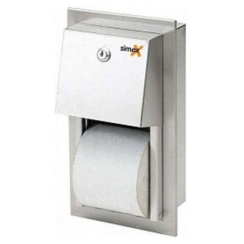 Wnękowy pojemnik na papier toaletowy podwójny | SN M