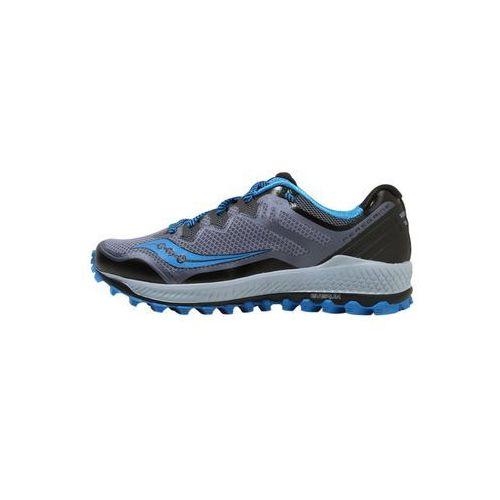Saucony peregrine 8 obuwie do biegania szlak black/grey/blue