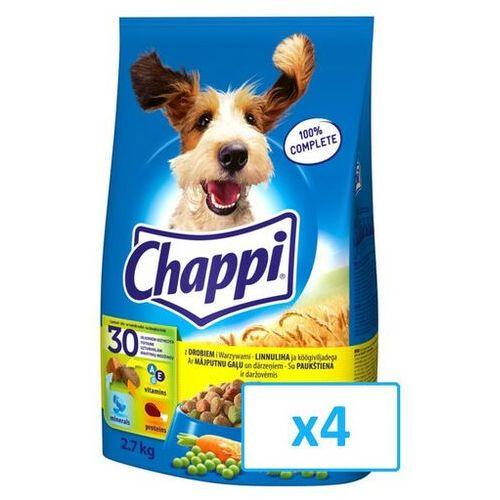 Chappi 10,8kg - sucha karma dla psów z drobiem i warzywami - darmowa dostawa od 95 zł!