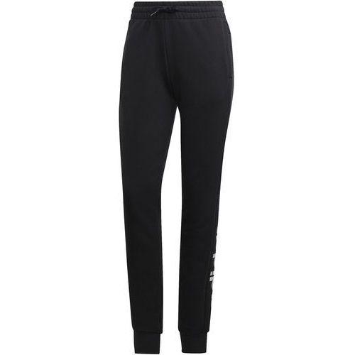 Adidas spodnie dresowe damskie W E Lin Pant/Black/White XL (4060509091462)