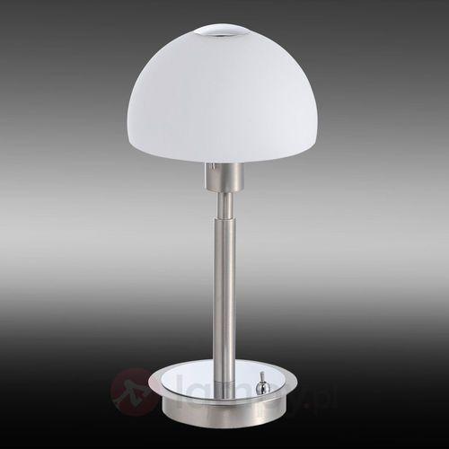 Paul neuhaus Lampa stołowa 4077-55, gu10, 1 x 4 w, 230 v, (Øxw) 12 cmx33.2 cm, stalowy (4012248262689)
