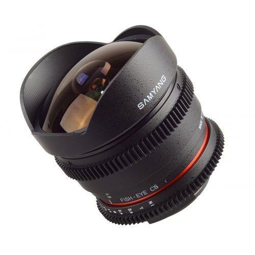 Samyang Obiektyw 8mm t3.8 h.d vdslr ii canon (f1322401101) darmowy odbiór w 21 miastach!