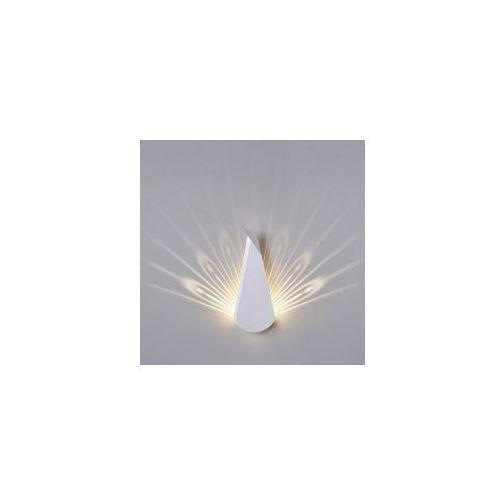 Kinkiet PAW biały - LED, stal węglowa, JD8607.WHITE (8550437)