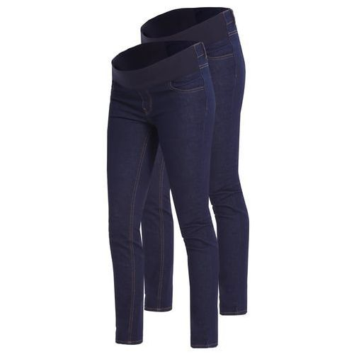 New Look Maternity 2 PACK Jeans Skinny Fit blue, kolor niebieski