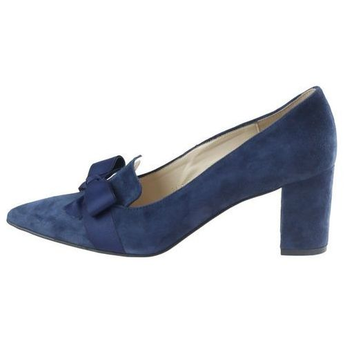 Czółenka Sagan 2854 - Granatowe, kolor niebieski