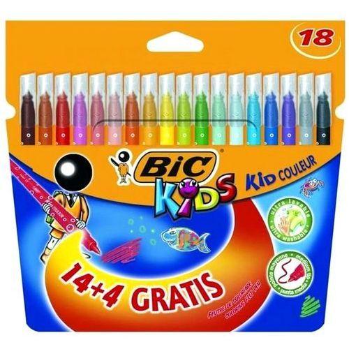 Flamastry kids kid couleur 14+4 kolory marki Bic