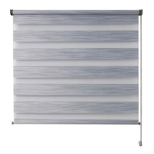 Roleta dzień/noc kala 96,5 x 180 cm szara marki Colours