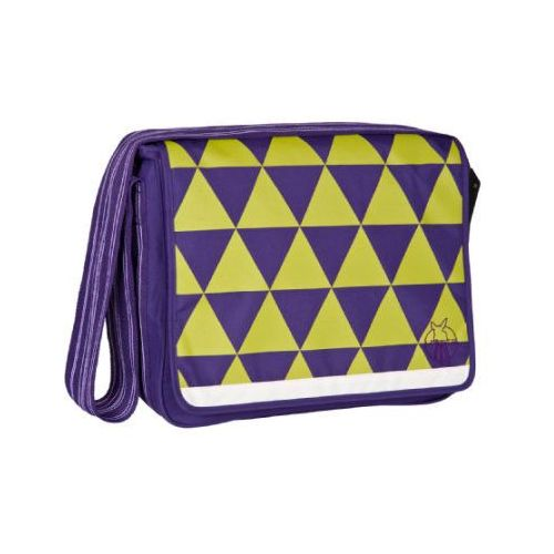 Lässig LÄssig torba na akcesoria do przewijania casual messenger bag triangle dark purple