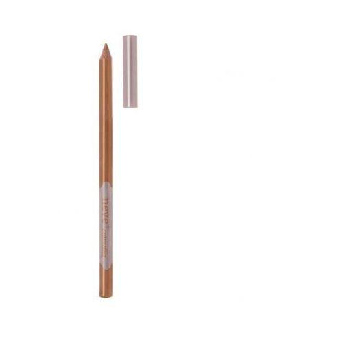 Neve cosmetics Naturalna brązowozłociska kredka do oczu caramello (wkład 1,5g) - brązowozłocisty