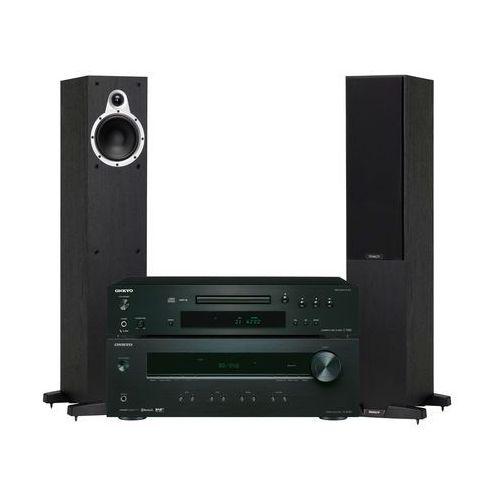 Onkyo Zestaw stereo tx-8220b + c-7030 + tannoy eclipse two czarny + darmowy transport! (2900014716561)
