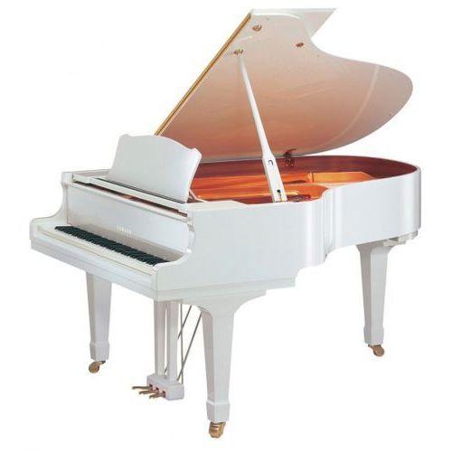 gc1 m pwh baby grand fortepian, biały (161 cm) marki Yamaha