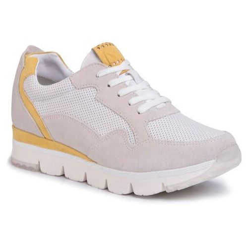 Sneakersy MARCO TOZZI - 2-23754-34 Offwhite Comb 111, w 6 rozmiarach