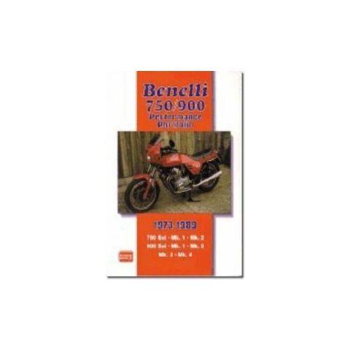 Benelli 750/900 Performance Portfolio 1973-1989