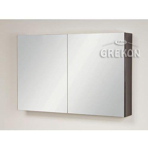 Szafka wisząca z lustrem 100x65 seria fokus fino marki Gante