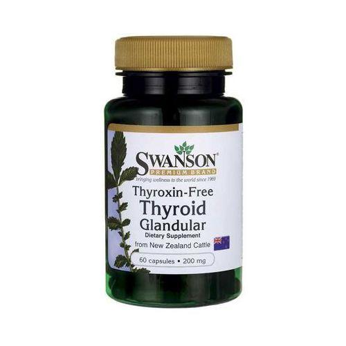 Swanson Thyroid Glandular (wolne od Tyroksyny) 60k