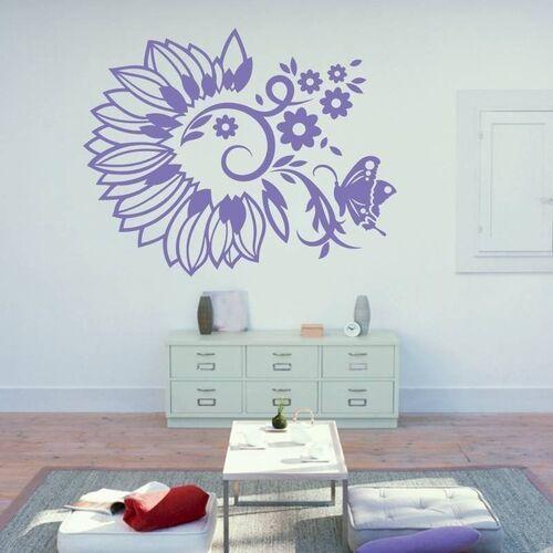 Wally - piękno dekoracji Naklejka dekoracyjna motyw roślinny 2120