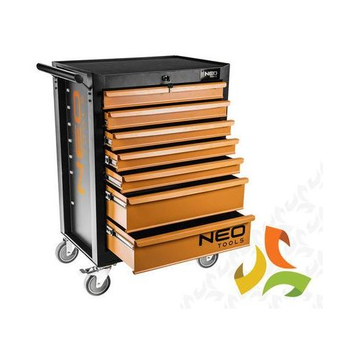 Topex Szafka narzędziowa, wózek 7 szuflad 84-222 neo tools